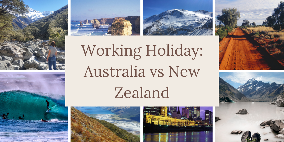 Working Holiday Australia vs New Zealand
